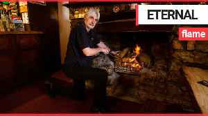 Inside one of England's highest pubs where a fire has been burning for 174 years [Video]