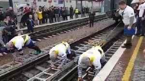 Three Russians Pull 1000t Train In Guinness Record Bid [Video]