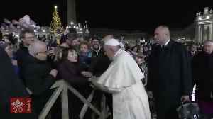 Pope Francis Apologizes For Slapping Woman's Hand [Video]
