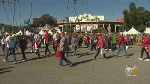 Oregon, Wisconsin Fans Flock To Pasadena For Rose Bowl [Video]