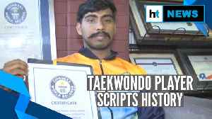Hyderabad's B Sai Deepak sets Guinness World Record for most side lunges [Video]