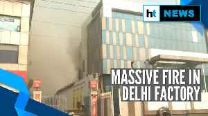 At least 14 injured as factory building collapses in Delhi's Peeragarhi [Video]