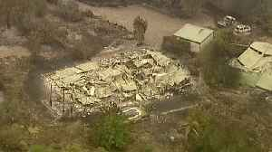 Australia wildfires: Mass evacuation as blaze spreads and state of emergency is declared [Video]