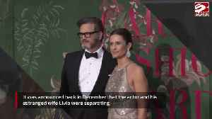 Colin Firth spent New Years Eve with his ex! [Video]