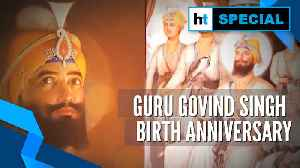 Guru Gobind Singh: Devotees celebrate tenth Sikh guru's birth anniversary | FESTIVALS OF INDIA [Video]
