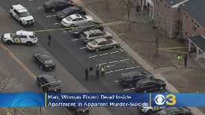 Man, Woman Found Dead In Apparent Murder-Suicide Inside South Jersey Apartment [Video]