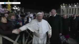 Check This Out: Pope Francis slaps woman's hand [Video]