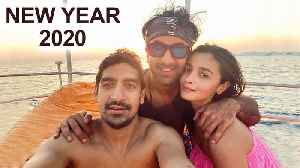 Alia Bhatt REVEALS Her First Pic With Ranbir Kapoor In 2020 [Video]