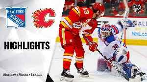 NHL Highlights | Rangers @ Flames 01/02/20 [Video]
