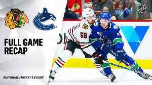 NHL Highlights   Blackhawks @ Canucks 01/02/20 [Video]
