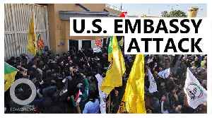 Protesters storm on U.S. embassy in Baghdad [Video]