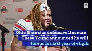Chase Young Will Enter NFL Draft [Video]