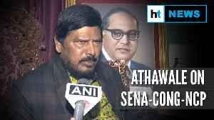 News video: Shiv Sena, Cong, NCP like auto-rickshaw, won't last long: Ramdas Athawale