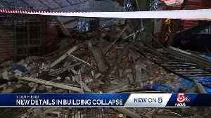 Building collapse 'sounded like thunder' [Video]