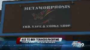 Local effect of age increase to buy tobacco/nicotine products [Video]