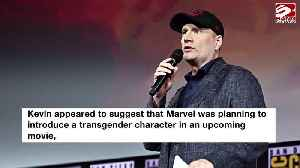 Kevin Feige clarifies comments on transgender Marvel superhero [Video]