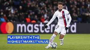 Can you guess which players had the highest market values in 2019? [Video]