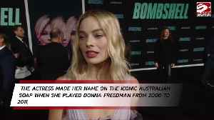 Margot Robbie thought Neighbours was highest point of her career [Video]
