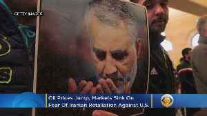 Oil Prices Jump, Markets Sink On Fear Of Iranian Retaliation Against U.S. [Video]