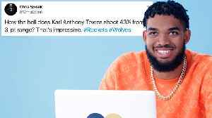 Karl Anthony Towns Goes Undercover on YouTube, Reddit and Twitter [Video]