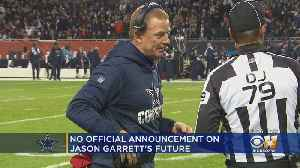 No Official Announcement On Future Of Cowboys Coach Jason Garrett [Video]
