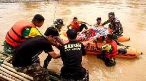 Flooding and landslides in Jakarta kills at least 40 [Video]