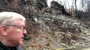 John Shumway - Reporter Update: Route 51 Landslide [Video]