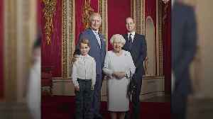 Four heirs in royal portrait to mark the new decade [Video]
