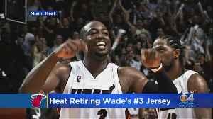 Miami Heat To Retire Dwyane Wade's Jersey On February 22nd [Video]
