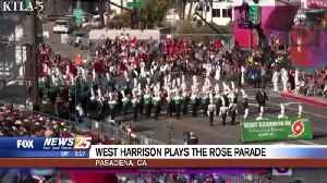 West Harrison plays the Rose Parade [Video]