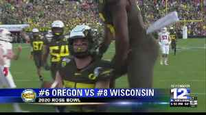 Oregon natives lift Ducks to 2020 Rose Bowl victory [Video]