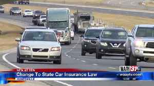 Change to state car insurance law [Video]