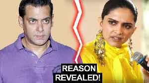 Deepika Padukone REACTS To NOT Working With Salman Khan   Chhapaak Promotions [Video]
