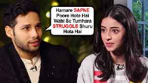 Gully Boy Siddhant Chaturvedi's EPIC REACTION On Ananya Panday's Nepotism Comment [Video]