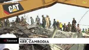 Survivors rescued from collapsed building in southern Cambodia [Video]
