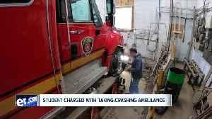 Stolen Fredonia ambulance damaged in crash [Video]