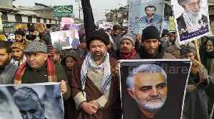 News video: Shia Muslims in Kashmir protest against US killing of Soleimani