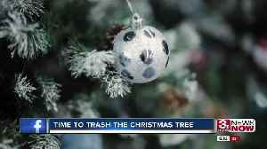 Time to Trash the Christmas Tree [Video]