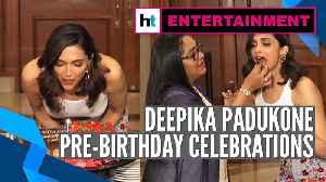 Watch: Deepika Padukone cuts pre-birthday cake with Chhapaak team [Video]