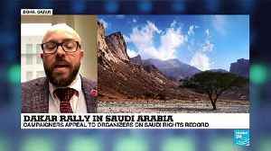 Dakar Rally in Saudi Arabia: Campaigners appeal to organizers on Saudi rights record [Video]