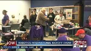 2020 FIRST Robotics competition international kickoff event [Video]