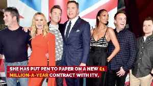 Amanda Holden's new 'Britain's Got Talent' deal [Video]