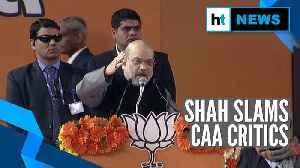 'Attack on Nankana Sahib is an answer to CAA critics': Amit Shah [Video]
