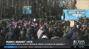 Anti-Hate March To Support Jewish Community Ends With Brooklyn Rally [Video]