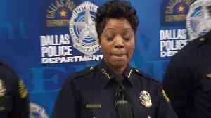 Dallas Police Chief Renee Hall Holds News Conference Over 'Senseless Gun Violence' [Video]