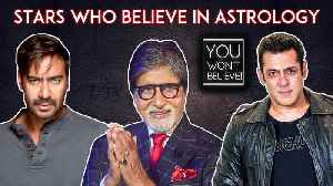 Salman Khan, Shah Rukh Khan, Amitabh Bachchan   Bollywood Stars Who Believe In Astrology [Video]