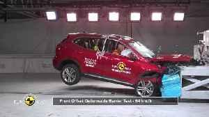 MG HS - Crash & Safety Tests 2019 [Video]