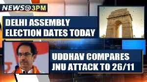 Uddhav Thackeray compares JNU violence to 26/11 Mumbai attacks | OneIndia News [Video]