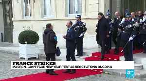 French pension reform negotiations continue as public starts to turn on strikers [Video]