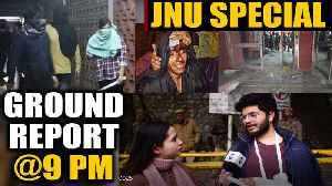 News video: JNU violence: Students and teachers narrate horror, watch ground report  | Oneindia News